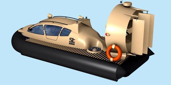картинка лодки на воздушной подушке