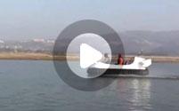 Судно на воздушной подушке Neoteric Hovertrek видео
