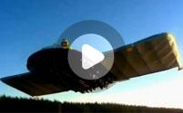 Летающее борт на воздушной подушке